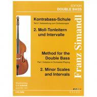 Simandl, F.: Kontrabass-Schule Band 2