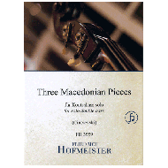Three Macedonian Pieces