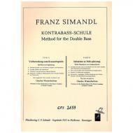 Simandl, F.: Kontrabass-Schule Band 9
