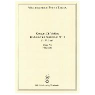 Taban, P.: Konzert im deutschen Barockstil Nr. 1 Op. 7/c