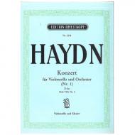 Haydn, J.: Violoncellokonzert Op. 101 Hob.VIIb: 2 D-Dur