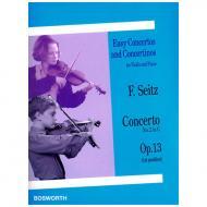 Seitz, F.: Violinkonzert No. 2 Op. 13 G-Dur