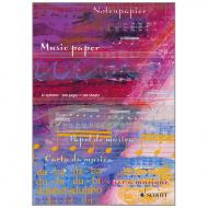 Music Paper Pad DIN A4