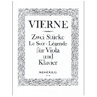 Vierne, L.: Zwei Stücke op. 5 - Le Soir  / Légende