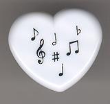 Heart-shaped sharpener