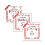 TONICA »NEW FORMULA« violin strings A-D-G by Pirastro