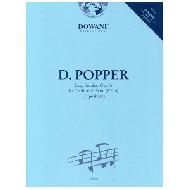Popper, D.: Leichte Etüden Op.76 (+CD)