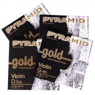 PYRAMID GOLD violin strings SET