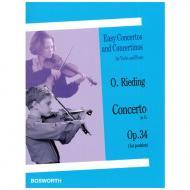Rieding, O.: Violinkonzert Op. 34 G-Dur
