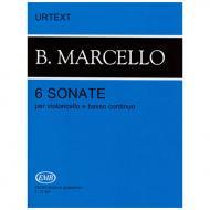 Marcello, B.: 6 Sonaten