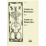 Breuer, P.: Studien für Kontrabass Band 1