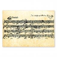 Postcard Mozart