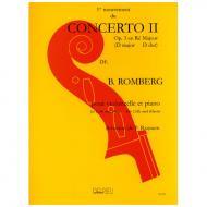 Romberg, B.: Violoncellokonzert Nr. 2 Op. 3 D-Dur – 1. Satz