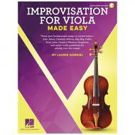 Gabriel, L.: Improvisation for Viola Made Easy (+Online Audio)