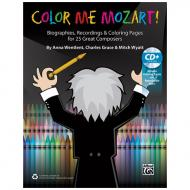 Color Me Mozart! – Malbuch (+CD)