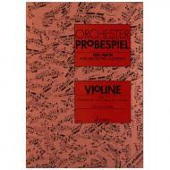 Orchester-Probespiel Violine Band 1