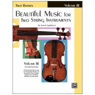 Applebaum, S.: Beautiful Music for two String Instruments Vol. 3 – Bass