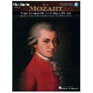 Mozart, W.A.: Violinkonzert Nr.3 G-Dur (+Online Audio)