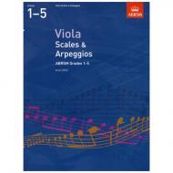 ABRSM: Viola Scales And Arpeggios – Grade 1-5