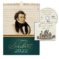 Kalender »Franz Schubert 2022« (+CD)