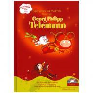 Cardinaux, M.: Superpresto und Moderato besuchen Georg Philipp Telemann (+CD)
