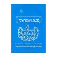 STAR music paper sketchbook DIN A4 upright format