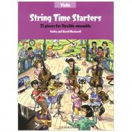 Blackwell, K. & D.: String Time Starters – Violine (+Online Audio)