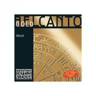 BELCANTO Gold cello string D by Thomastik-Infeld
