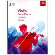 ABRSM: Violin Exam Pieces Grade 3 (2020-2023) (+CD)