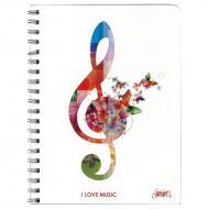Notebook music