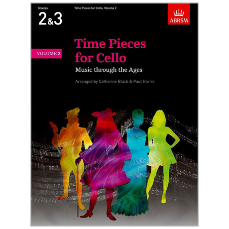 90f684e784cc3d Black, C./Harris, P.: Time Pieces for Cello Band 2 - A-B - available ...