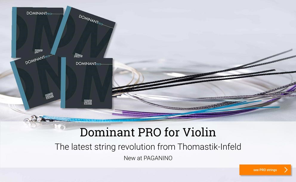 THOMASTIK Dominant PRO violin strings >