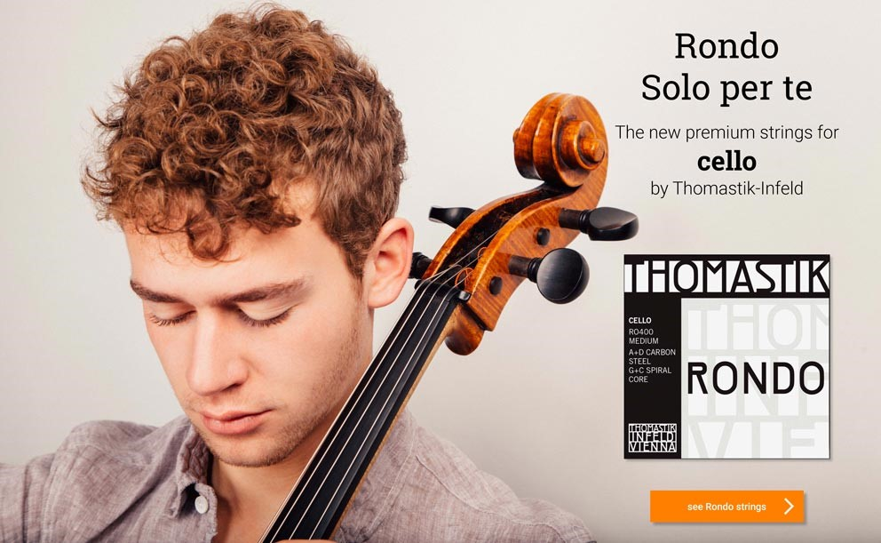THOMASTIK Rondo cello strings >