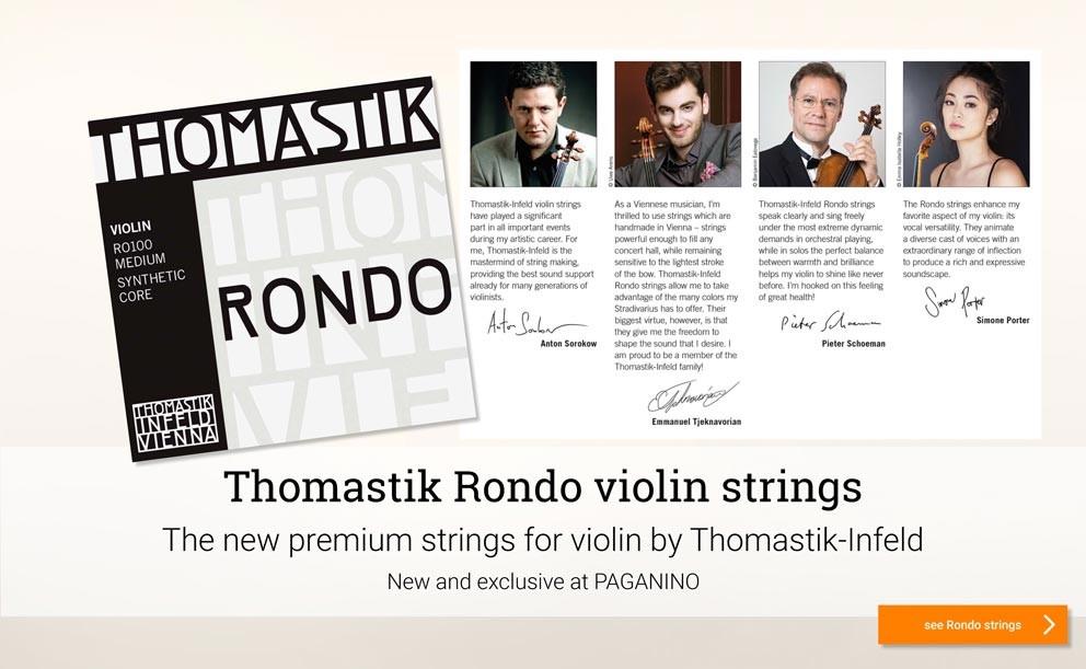 Thomstik Rondo violin strings >