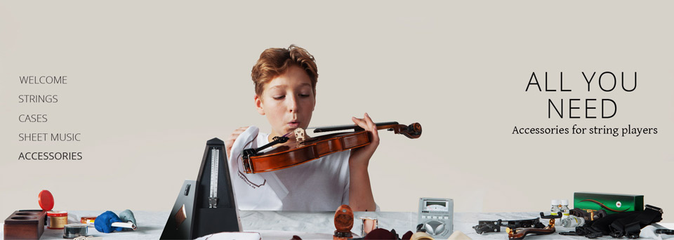 All You Need – accessories for string players